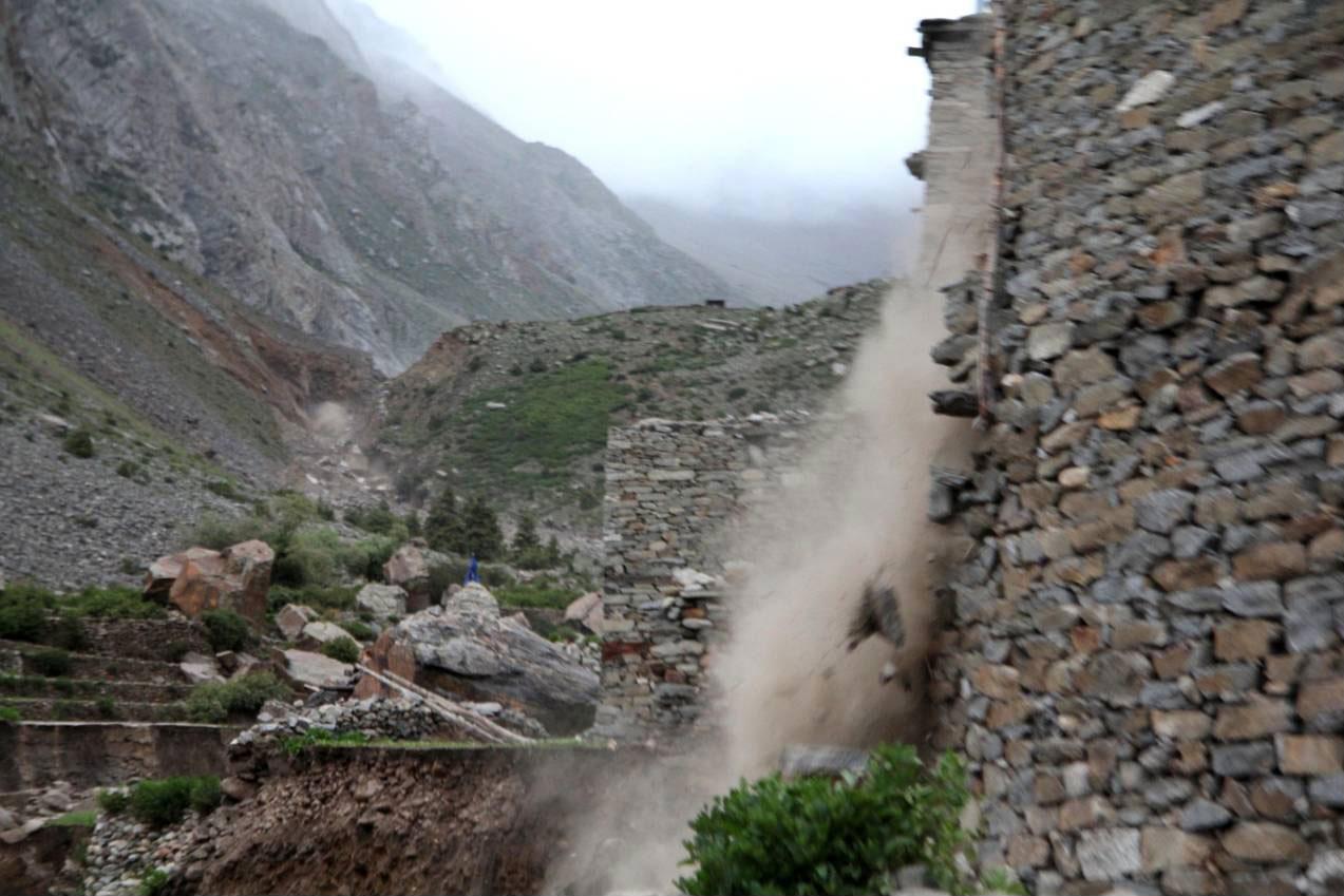Astrid Hovden: Glacial Lake Outburst Flood in Halji, Limi ...