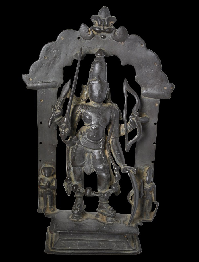 Bronze Shiva as Virabhadra, Vijayanagar period