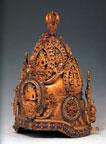 Ritual Object: Vajra Crown (metal)