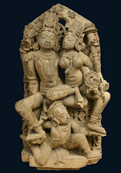 Stele of Vishnu and Lakshmi