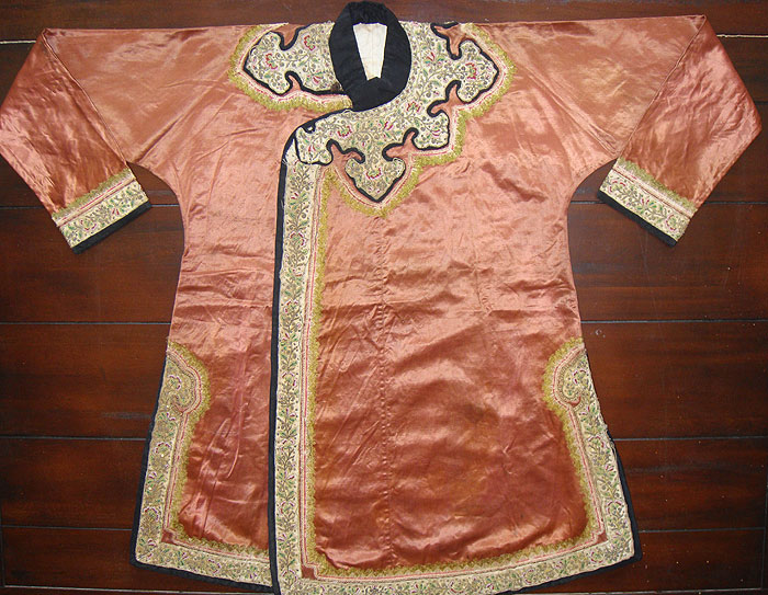 19th c. Sumatra Chinese Silk Jacket