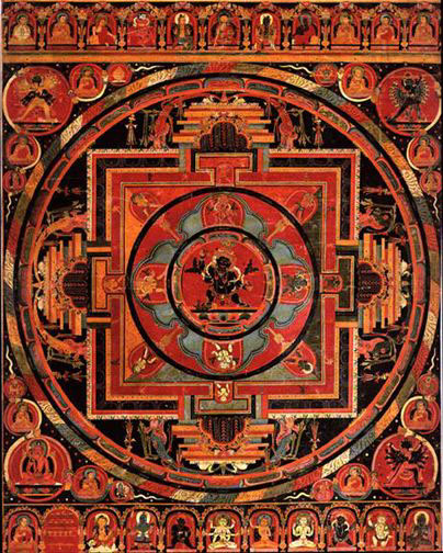 Mandala of an Esoteric Form of Vajrapani