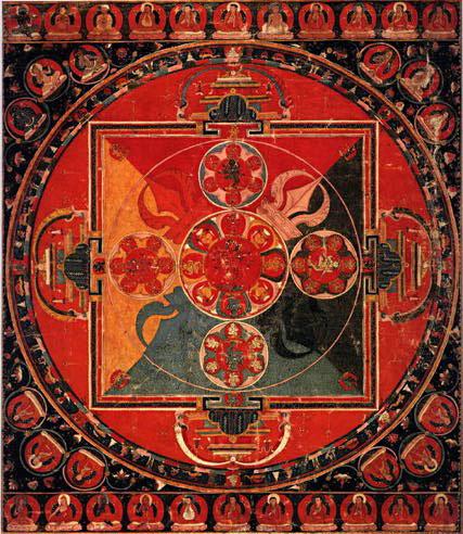 Vajravarahi Abhibhava Mandala