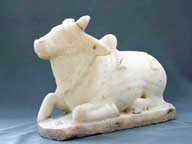 Marble Nandi from India