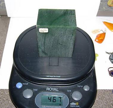 Price of jade per ounce