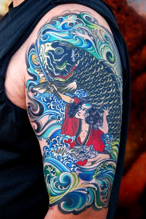 Sleeve Tattoos on 59178 Japanese Half Sleeve Tattoos Jpg