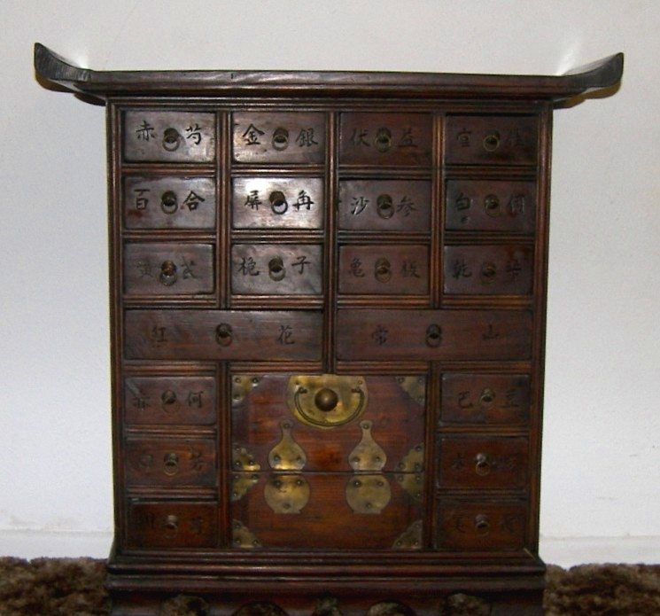 Asian medicine chests
