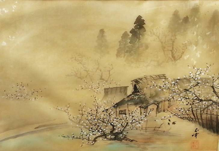 Asian paintings with pictures