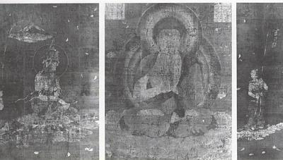 Amida Raigo Triptych