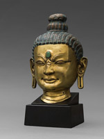 Head of a Mahasiddha
